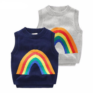 Rainbow Sweater Vest