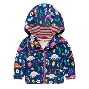 Dinosaur Land Rain Jacket