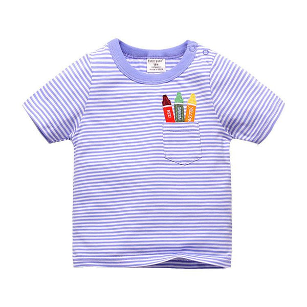Pocket Crayons Tee