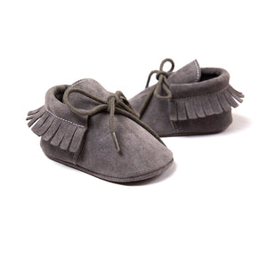 Soft Sole Tassel Slip Ons