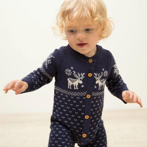 Nordic Knit Onesie (more colors)