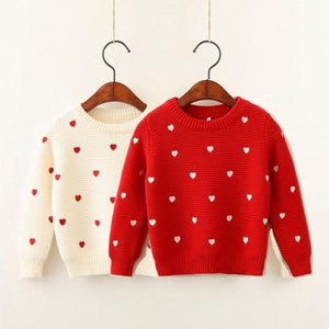 Heart Dots Sweater