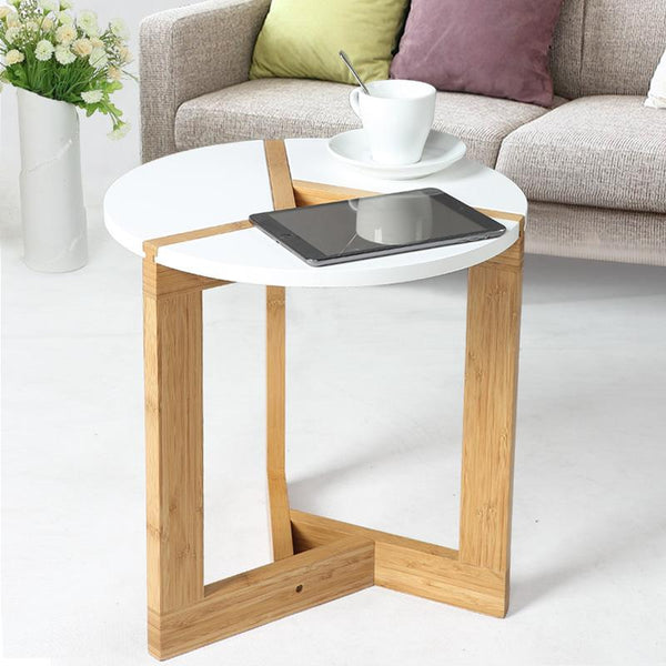 Modern Bamboo Side Table