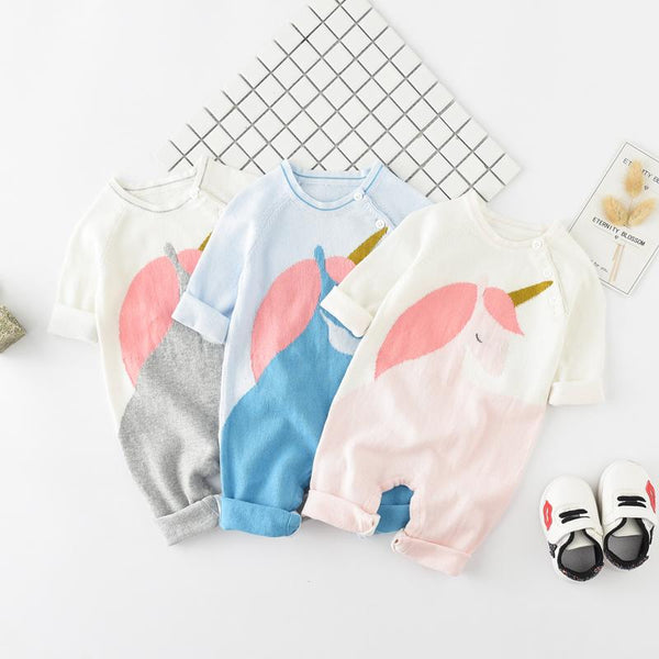 Unicorn Knit Onesie