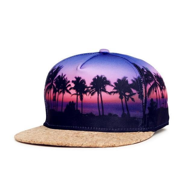 Tropical Cork Bill Cap