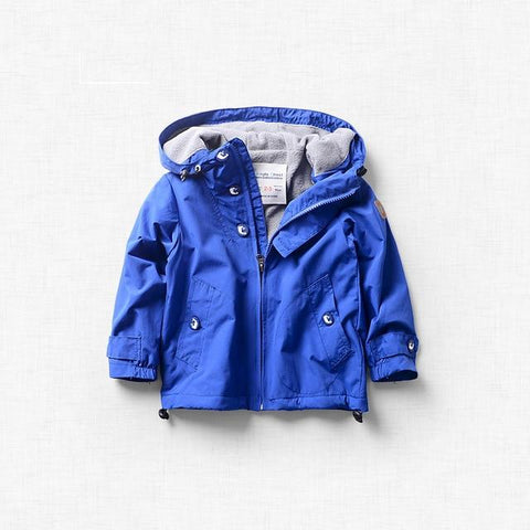 Primary Colors Fleece-Lined Winter Jacket
