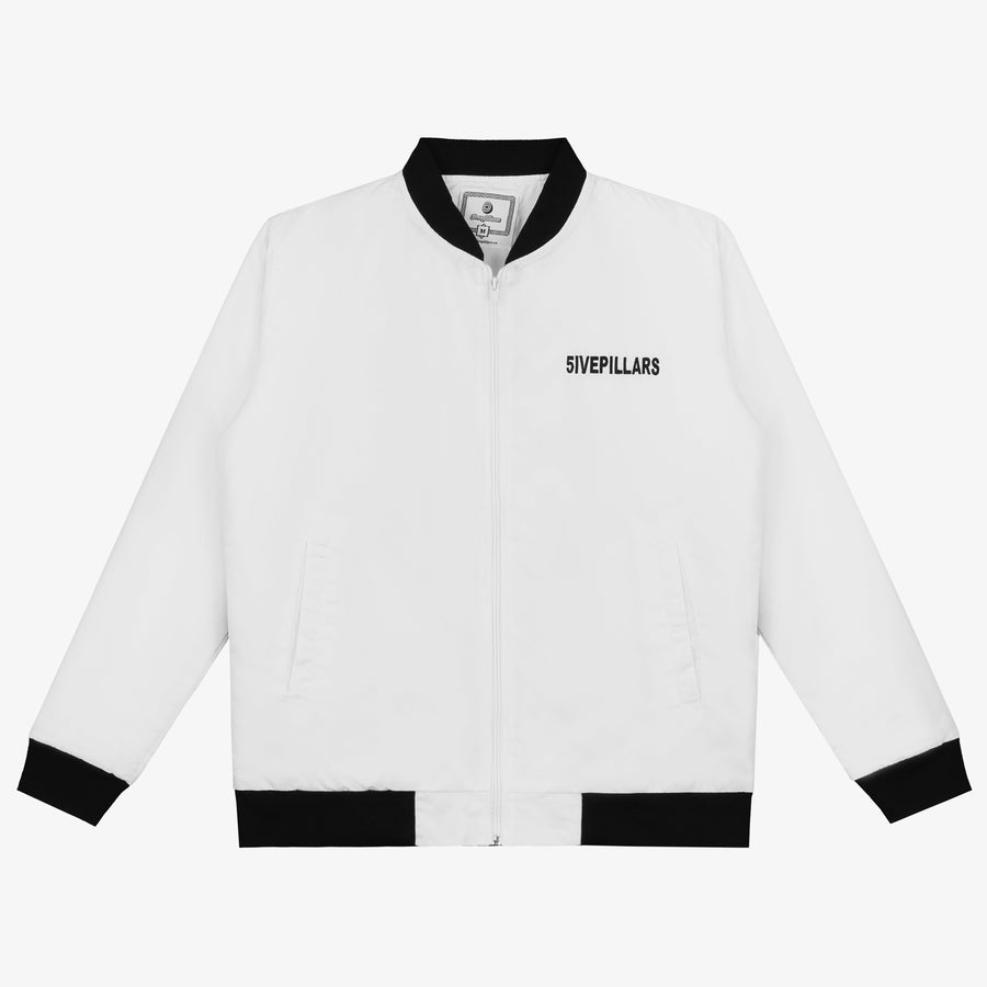 The Greatest Bomber Jacket - White