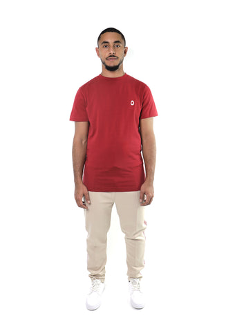 Deep Red Stamp T-shirt