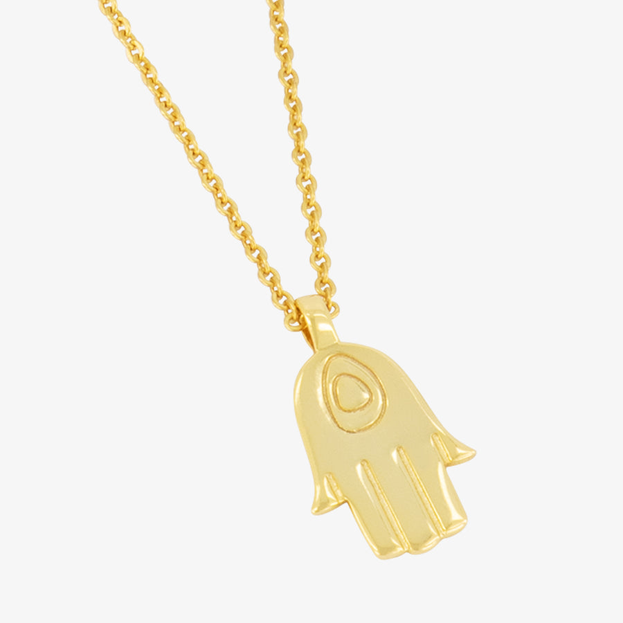 5ivepillars Hand Necklace - Gold