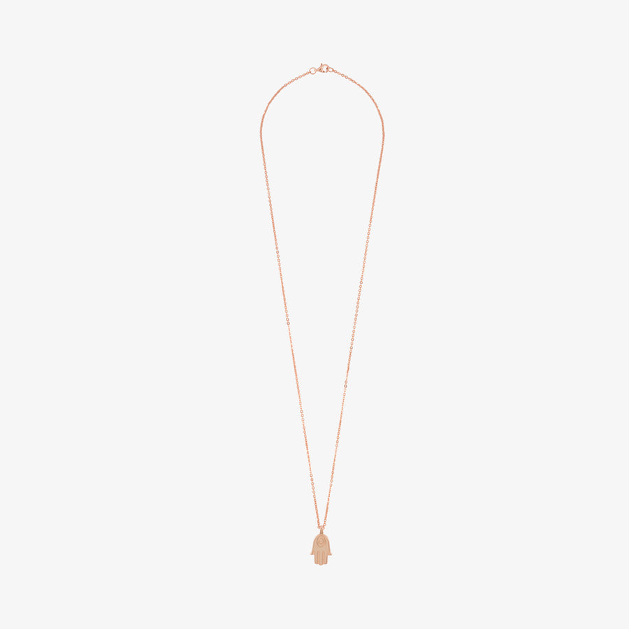 5ivepillars Hand Necklace - Rose Gold