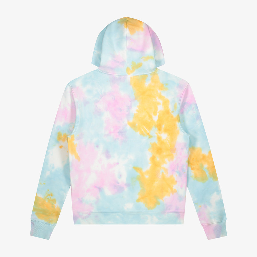Alhamdulillah Tie Dye Hoodie - Cotton Candy