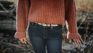 Guinevere Chunky Crop Sweater
