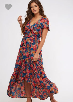 Demi Hi-Low Maxi