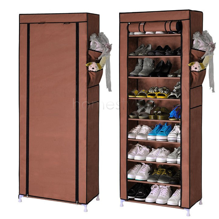 Large capacity shoe cabinet shoes rack storage diy for Muebles para zapatos colombia