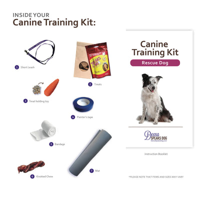 Rescue Dog Training Kit