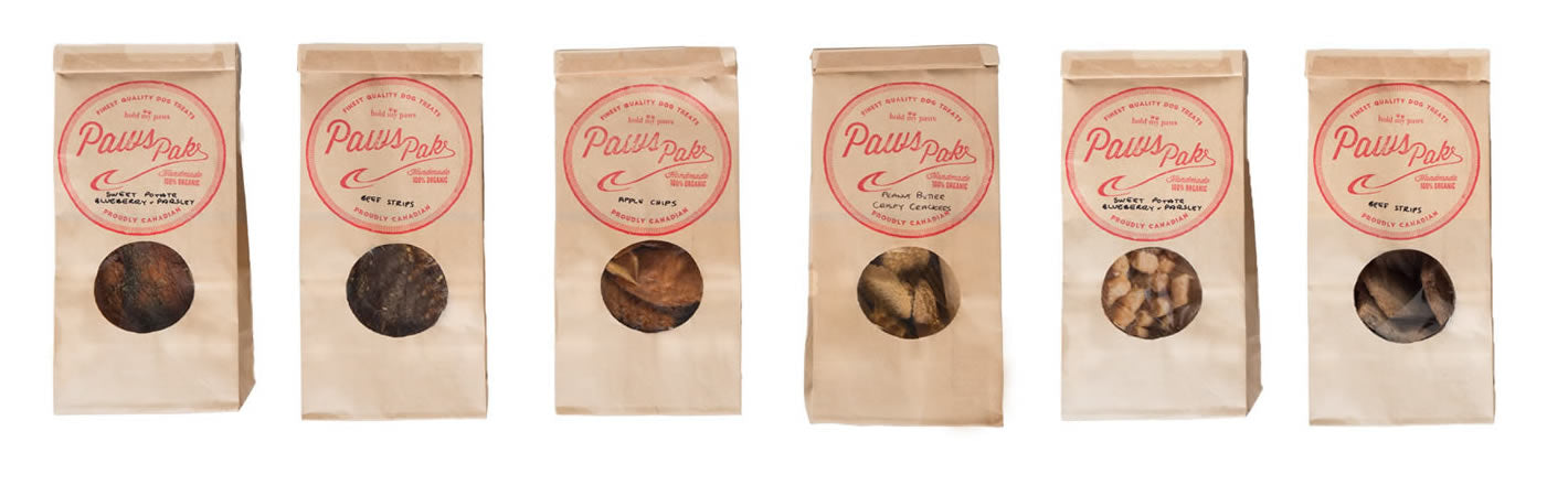 PawsPak dog treats