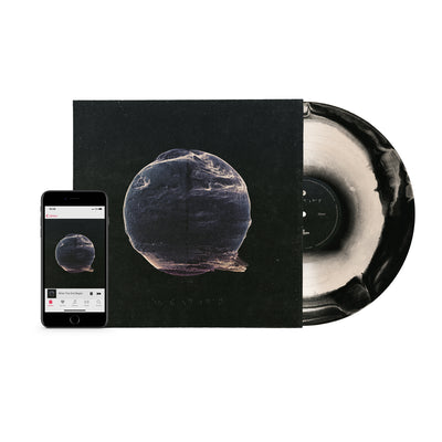 WTEB VINYL (BLACK/WHITE) + DIGITAL DOWNLOAD + POSTER BUNDLE