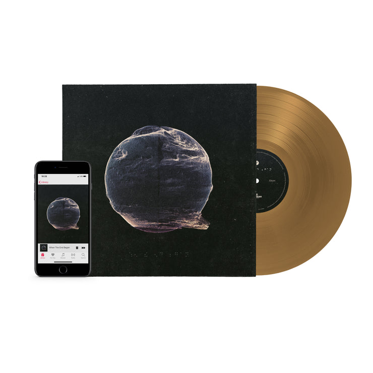 WTEB VINYL (GOLD) + DIGITAL DOWNLOAD + POSTER BUNDLE