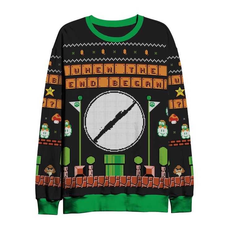 Mario Planet Holiday Sweater