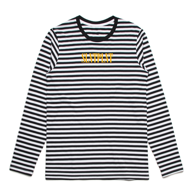 Embroidered Striped Longsleeve