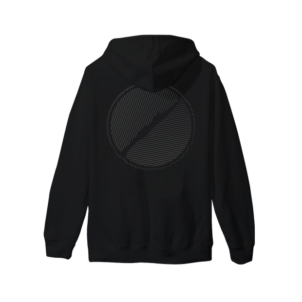 Black on Black Reflective Hoodie