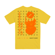 WTEB Yellow Grid Tee