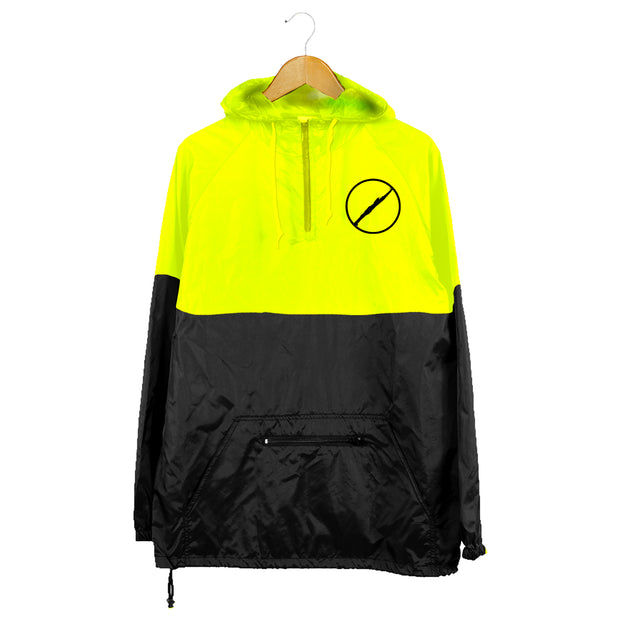 WTEB REFLECTIVE YELLOW VS. BLACK WINDBREAKER