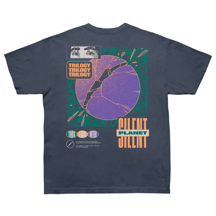 Broken Planet on Bluestone Carhartt Tee
