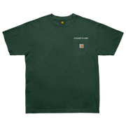 Be Still on Hunter Green Carhartt Tee