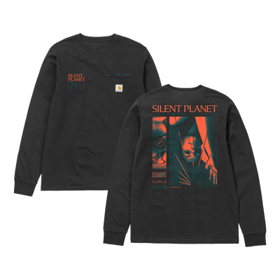 Shattered on Black Carhartt Long Sleeve