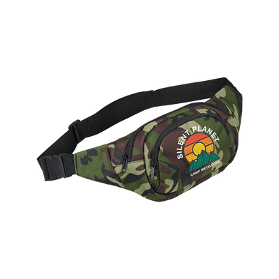 Camp Metalcore Camo Fanny Pack
