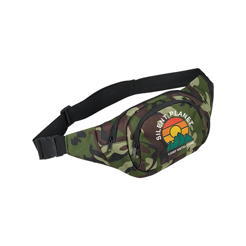 Camp Metalcore 2018 Camo Fanny Pack
