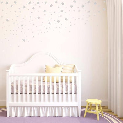 Twinkle Stars Wall Decals for nursery, playroom, kids bedroom nordic modern style