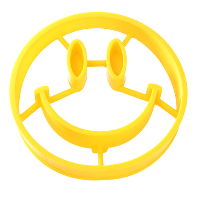 Smiley Silicone Mold Silicone Egg Mold Fried Egg Mould Culinary Ring Silicone Forms Pancake Breakfast Cooking Tools Kitchenware Silicone Pancake Mold