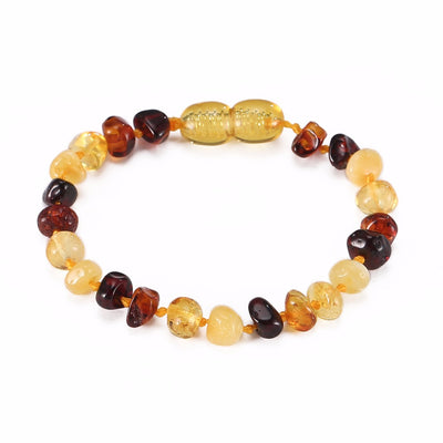 Baltic Amber Teething Bracelet (Multicolor)
