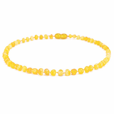 Amber Teething Necklace (Butterscotch)
