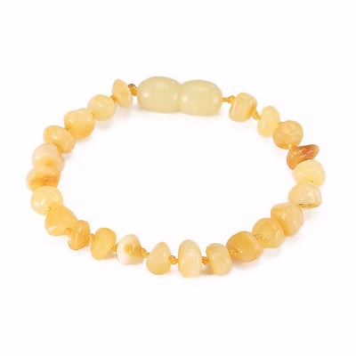 Baltic Amber Teething Bracelet (Butterscotch)