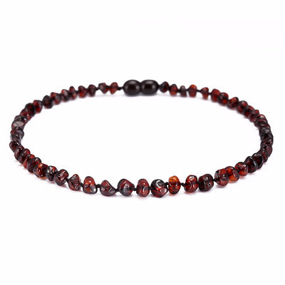 Baltic Amber Teething Necklace (Cherry)
