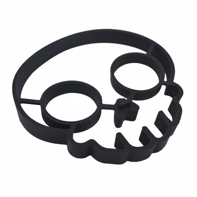 Skull Silicone Mold Silicone Egg Mold Fried Egg Mould Culinary Ring Silicone Forms Pancake Breakfast Cooking Tools Kitchenware Silicone Pancake Mold