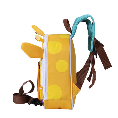 Certar's Giraffe Safety Backpack Elasticity Anti-lost Safety Hardness Backpack Animal with leash rein for toddler or kids