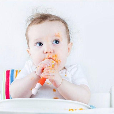 Flexible Baby, Toddler and Child Fork and Spoon Set