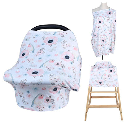 Multi-Use Nursing Cover - Chaffinch for baby nursing mom capsule carseat cover highchair cover scarf pram stroller cover