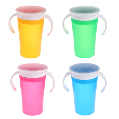 360˚ Spill Proof Cup spill proof toddler green blue orange pink