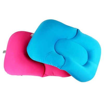 Buddy Bath Pad pink blue baby bath cleaning tub non-slip foldable