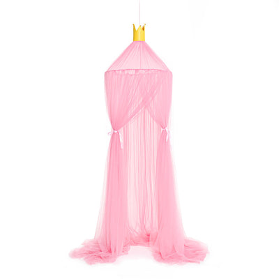 Sheer Canopy - Pink for baby nursery, kids bedroom and playroom. Princess nordic style scandi