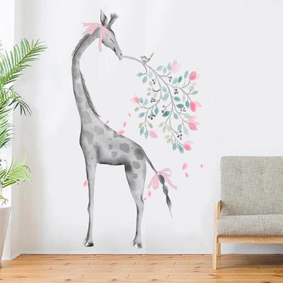 Giraffe Wall Sticker Decal Decor Nursery