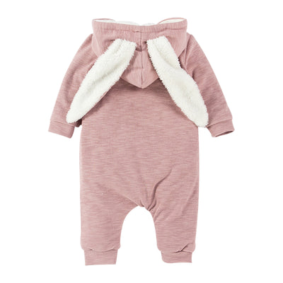 Fluffy Bunny Winter Suit for baby infant winter onesie fleece clothing and warm