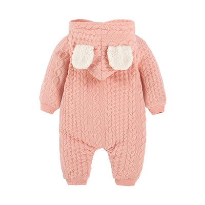 Baby Blush Winter Suit newborn baby onesie pink green white