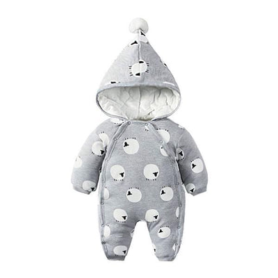 Grey little sheep winter suit
