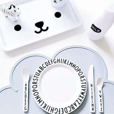 Cloud BPA-free Silicone Tableware Placemat for infant and kids Scandinavian and Nordic Style